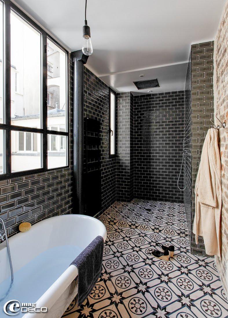 oryginalny loft pe en detali pary czytajniepytaj carrelage salle de bain ancien - Vieux Carrelage Salle De Bain