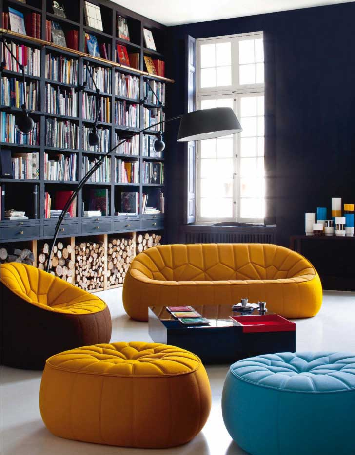 blue-and-yellow-sofa-home-library-design.jpg