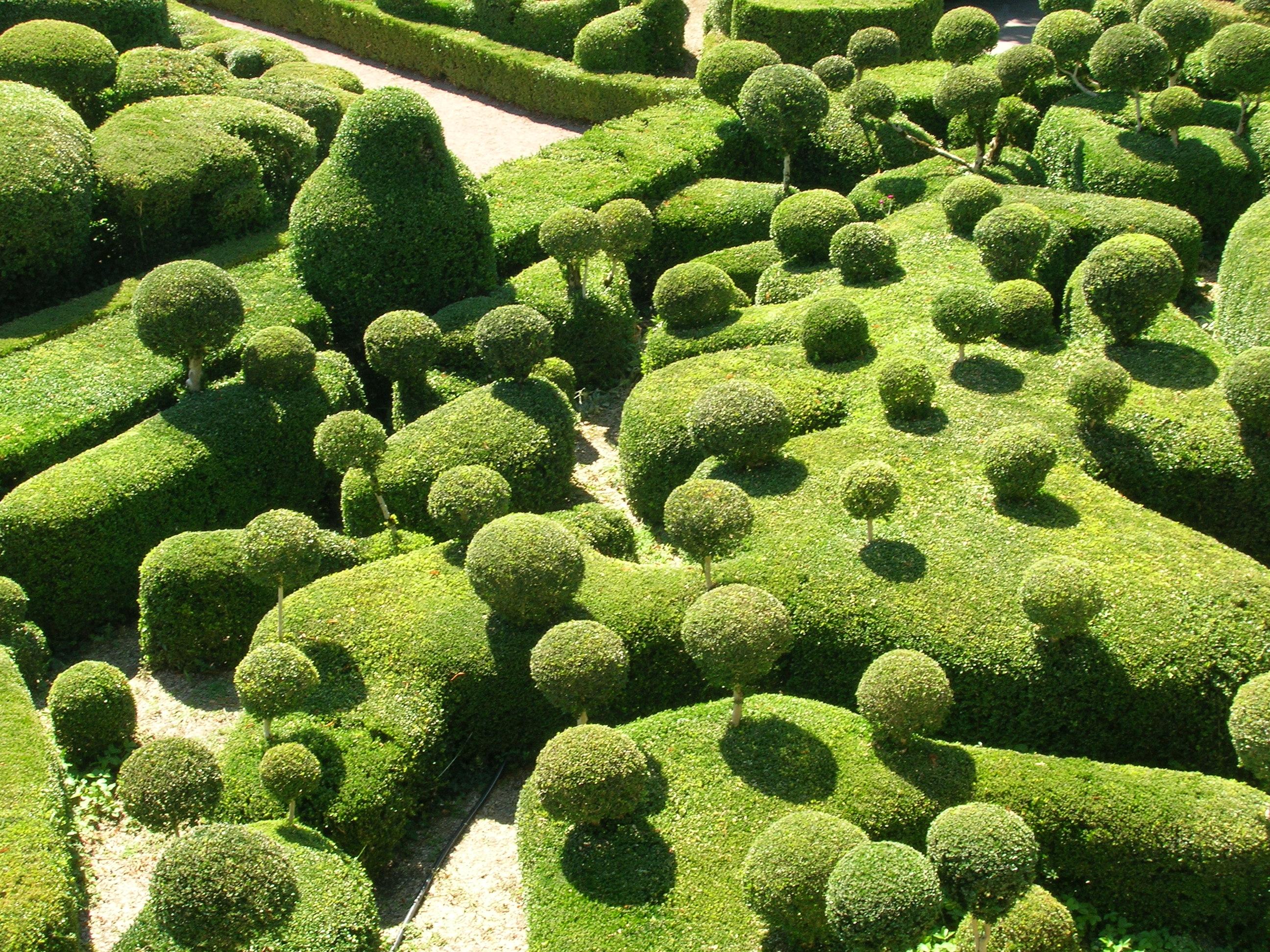 Zielono mi marqueyssac czytajniepytaj - Les jardins du bout du monde ...